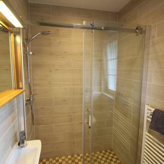 Ferienhaus »Bienenhaus« - Die Dusche
