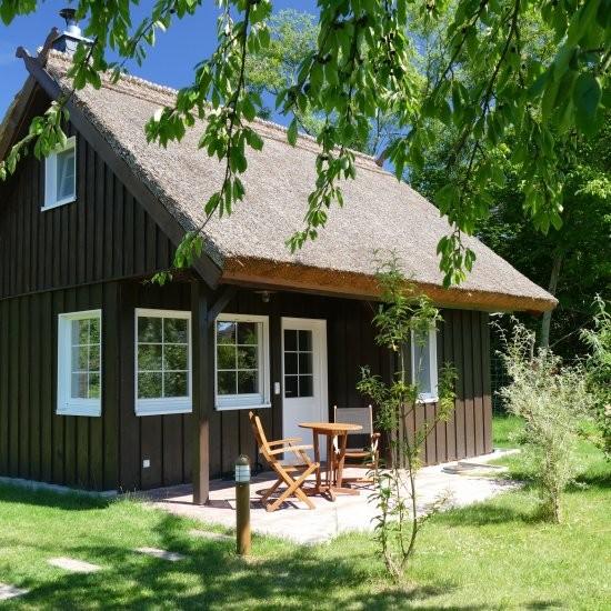 Holiday house »Bienenhaus« - Ansicht des Ferienhauses »Bienenhaus« in Lehde im Spreewald
