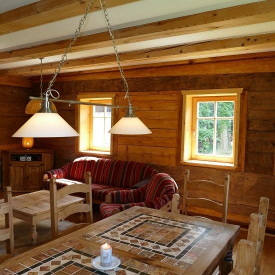 Holiday house »Haus anno 1750« - offener Wohn- und Essbereich