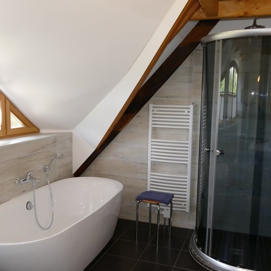 Ferienhaus »Haus anno 1750« - Baden oder Duschen