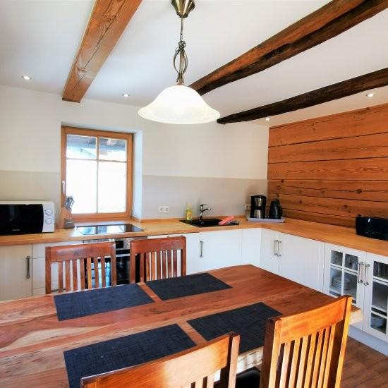 Ferienhaus »Scheune« - Alles was man zum Kochen braucht