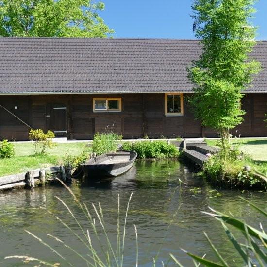 Ferienhaus »Scheune« - Ansicht des Ferienhauses »Scheune« in Lehde im Spreewald