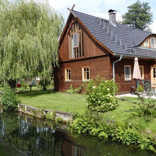 Holiday house »Haus anno 1750« - An zwei Wasserläufen gelegen