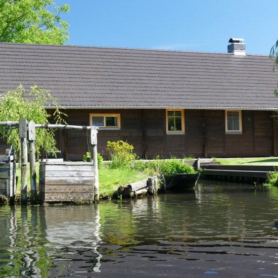 Ferienhaus »Scheune« - Fischkästen inklusive